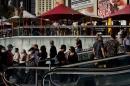 Image of Las Vegas Strip in April from WSJ