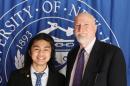 Eden Suoth Alumni Meritorious Service Award Association Prize recipient