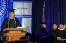 Bruce Rheaume at UNHM Commencement