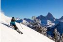 skier on mountain