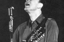 Pete Seegar playing at UNH in 1966