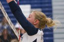 UNH volleyball player