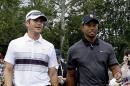 jesse smith with tiger woods