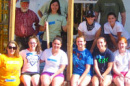UNH students on service trip during spring break
