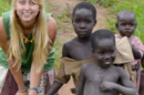 UNH student in Africa