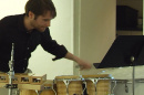 Drummer at UNH Undergraduate Research Conference event