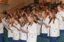 nursing student reading oath