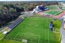 Artist rendition of proposed UNH soccer and lacrosse facility.