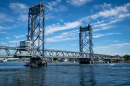 Photo of the Memorial Bridge, linking Portsmouth, NH to Kittery, Maine