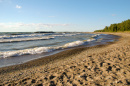 Stock photo: Beach by Lake Erie