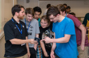 Steven Kazakis '17 was one of seven engineers from BAE Systems who instructed and mentored students in the BAE Systems Summer STEM Scholars, a new initiative within Tech Camp at the University of New Hampshire.