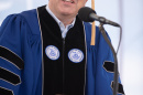 Shawn Gorman, executive chairman of the board of LL Bean, speaking at UNH commencement