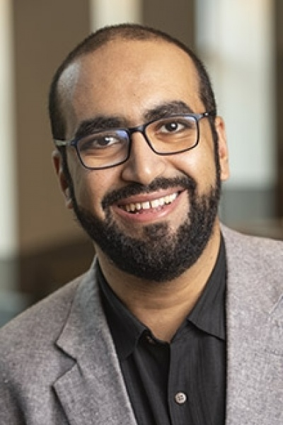 Islam Karkour, lecturer in arabic at UNH
