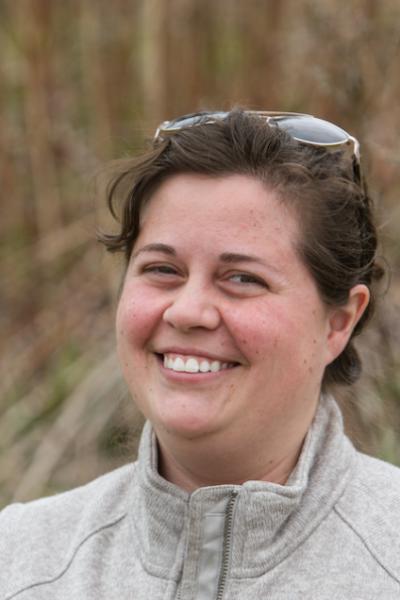 Head shot of Elizabeth Craig, tern conservation program manager at Shoals Marine Laboratory