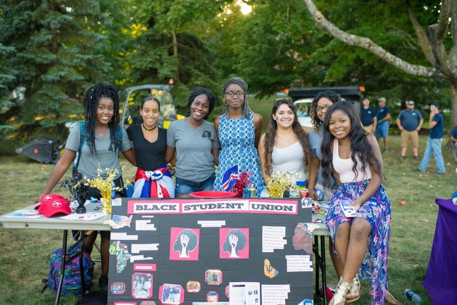 UNH Black Student Union at University Day