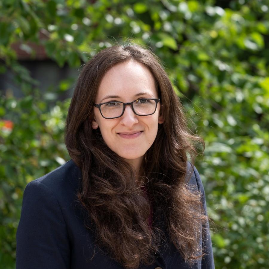 UNH professor Emily Baer