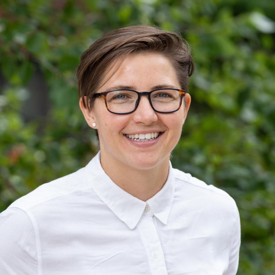 UNH professor Caitlin Mills