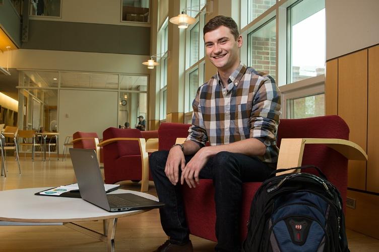UNH graduate Jordan Mrvos '17