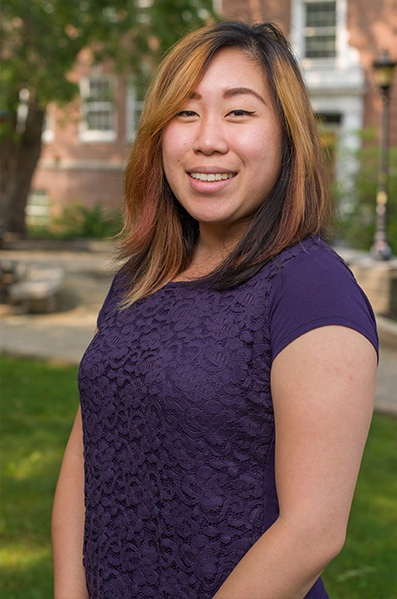 Eugenia Liu, Health and Human Services Librarian at UNH's Dimond Library