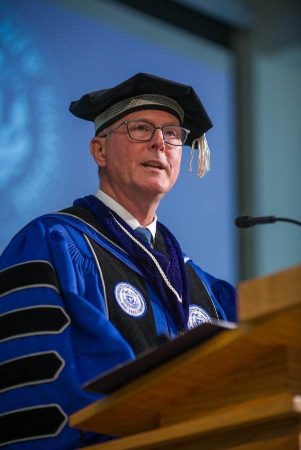 UNH President James W. Dean Jr.