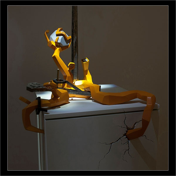 Nothingness, a sculpture by Kathleen Studebaker, UNH Woodshop Technician