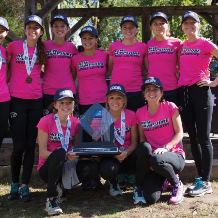 The womens cross country team