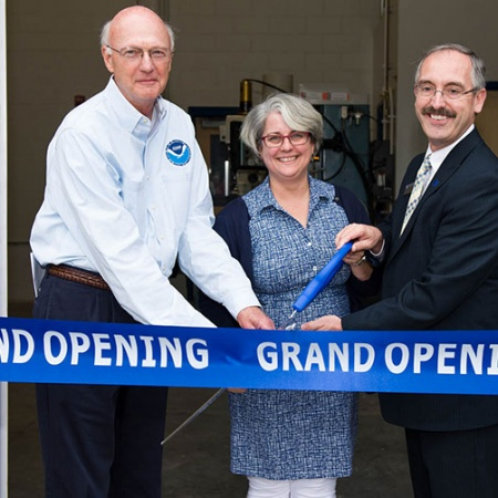 grand opening of the Jere A. Chase Ocean Engineering Laboratory Expansion