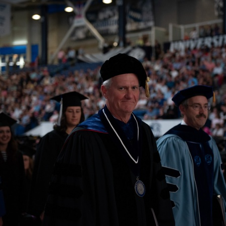 UNH faculty at Honors Convocation 2018