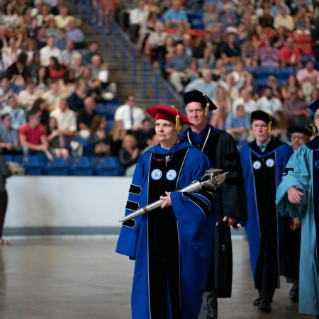 UNH faculty at Honors Convocation