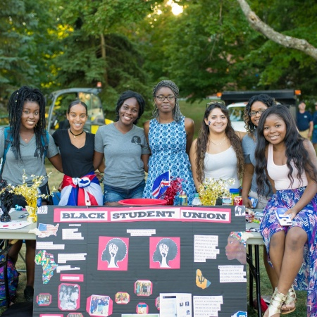 UNH Black Student Union at University Day