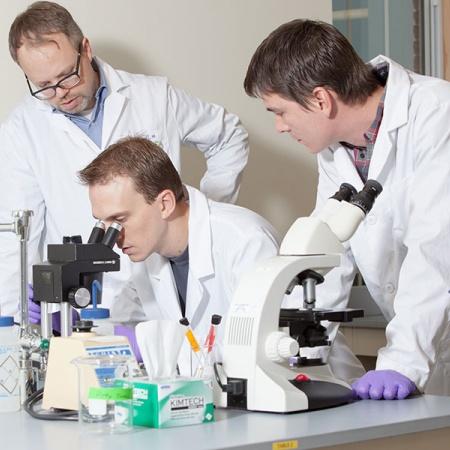 Bioscience Students at UNH Manchester