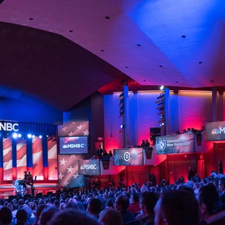 Democratic presidential debate at UNH