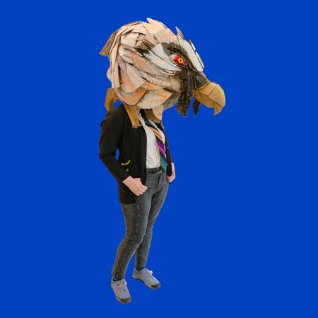 Eagle head mask