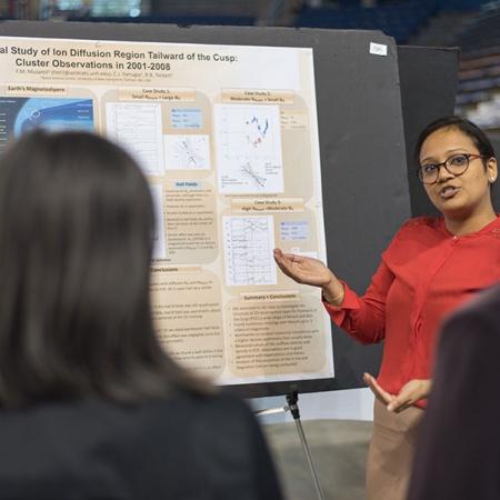 graduate research conference presenter