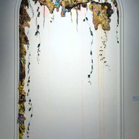 Living Paint, an installation by UNH alum Sarah Meyers Brent '07