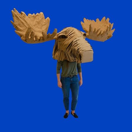 moose head mask
