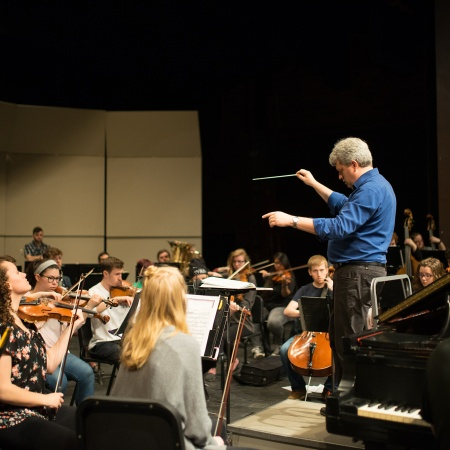 UNH Orchestra Rehearsal - Peter and the Wolf