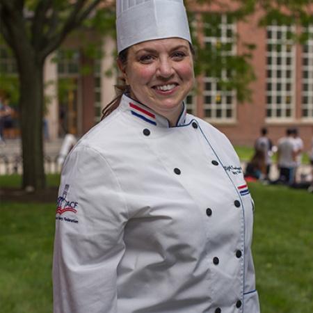 Elizabeth Kramlinger, Lecturer in Pastry Arts and Baking at UNH
