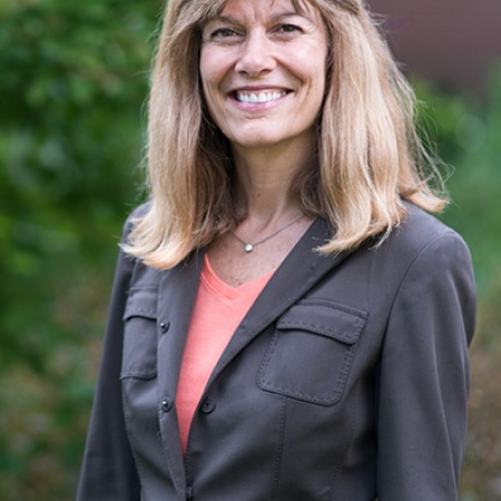 Betty Woodman, Lecturer in Business Ethics at UNH