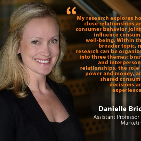 Danielle Brick, UNH Assistant Professor of Marketing, and quote