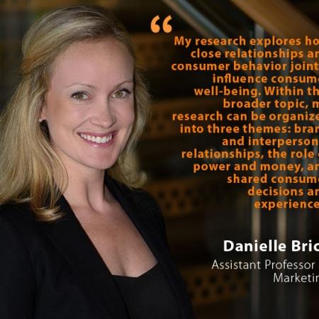 Danielle Brick, UNH Assistant Professor of Marketing, and quote