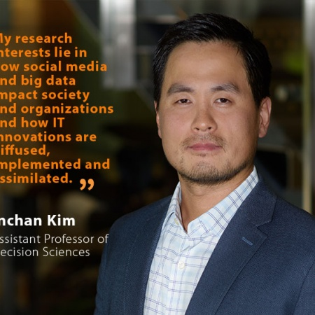 Inchan Kim, UNH Assistant Professor of Decision Sciences, and quote