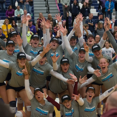 UNH volleyball