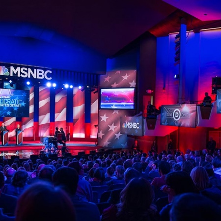 Democratic presidential debate at UNH