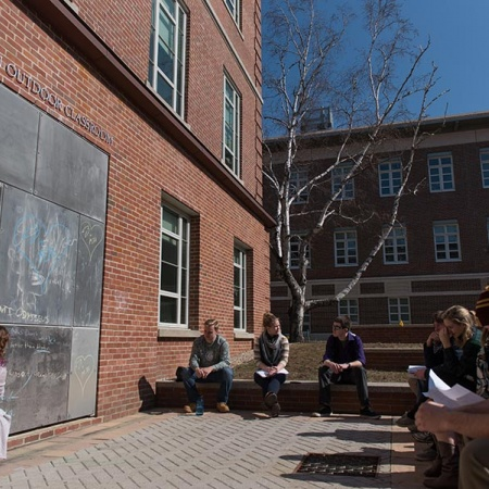 The Noonan Outdoor Classroom at UNH