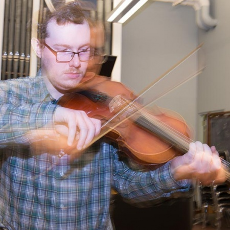 UNH violinist