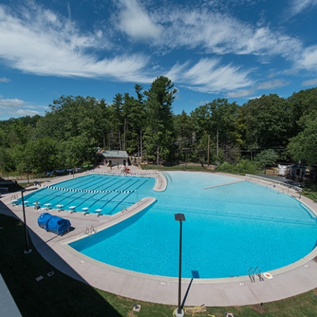 UNH's new outdoor pool
