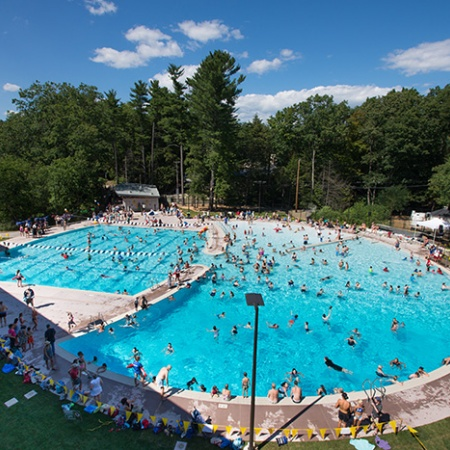 UNH's new outdoor pool opening