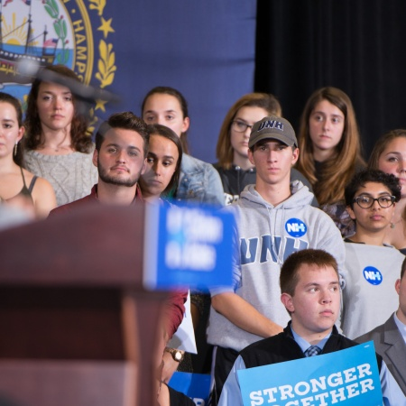 Hillary Clinton at UNH