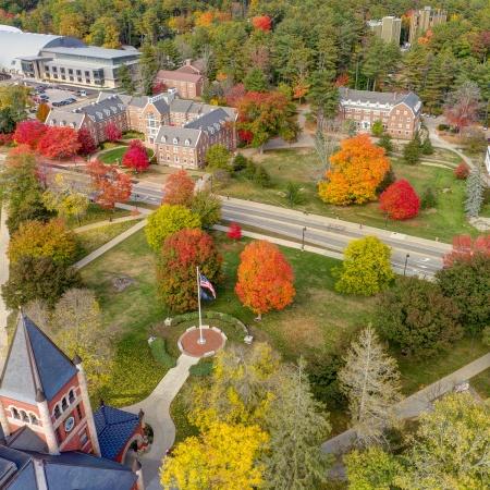 UNH Campus Aerial Photo